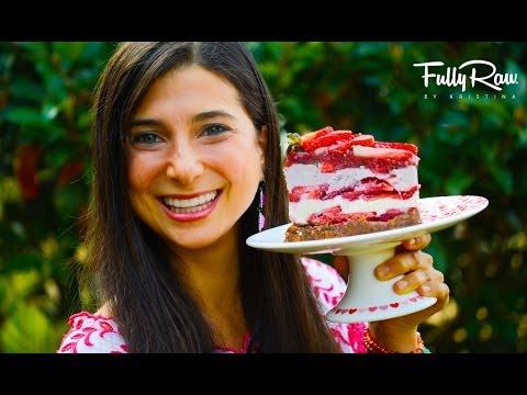 FullyRaw Strawberry Shortcake!
