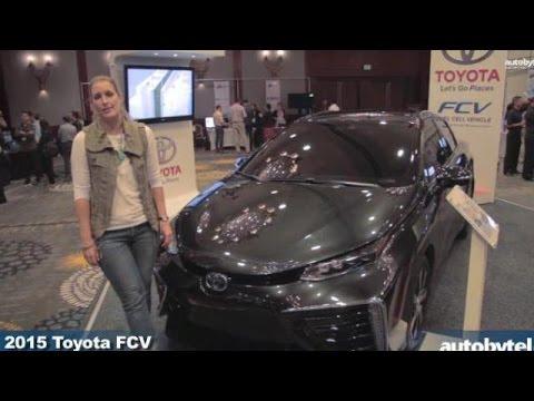 2015 Toyota FCV Hydrogen Fuel Cell Vehicle @ LA Entertainment Summit
