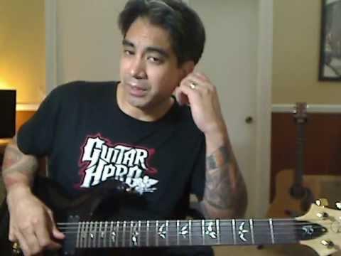D Minor Improvisation Guitar Lesson | Dyce Kimura | Joe Bonamassa Sloe Gin