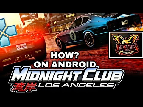 HOW TO PLAY MIDNIGHT CLUB LA PS3 GAME ON ANDROID MUST WATCH