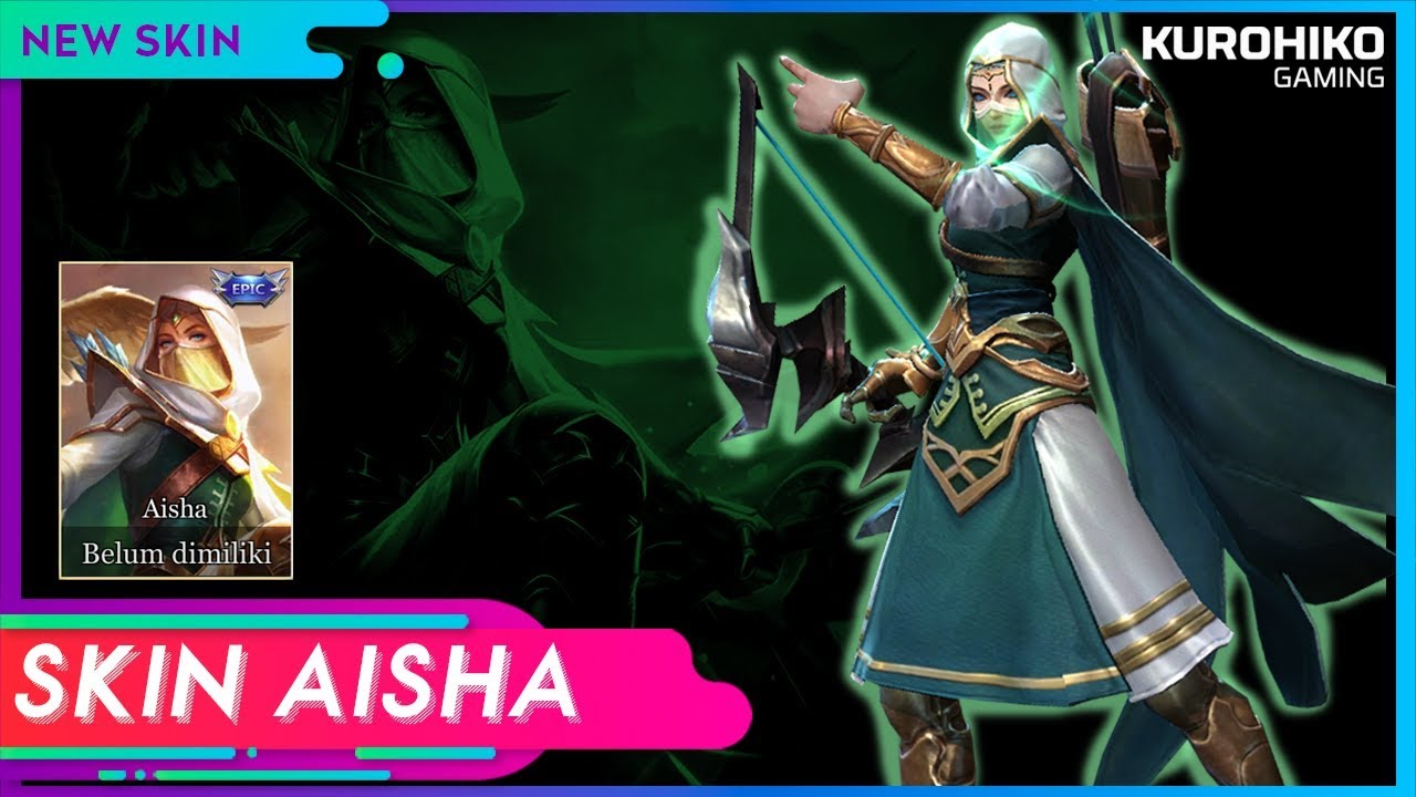 Telannas Aisha New Skin Aov Arena Of Valor