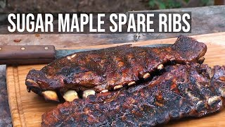 Sugar Maple Spare Ribs Recipe By The Bbq Pit Boys