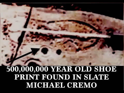 500,000,000 Year Old Shoe Prints In Slate Discovered, Michael Cremo