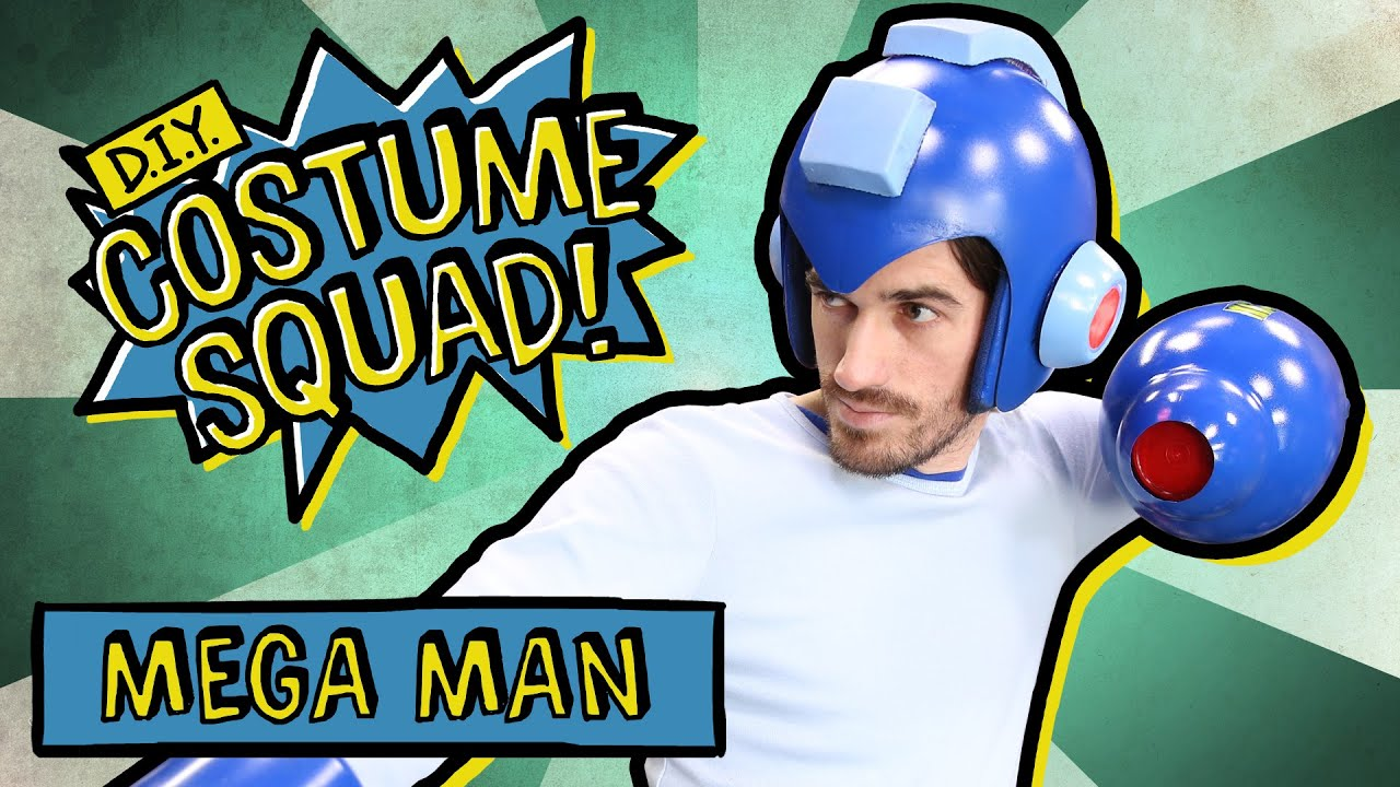 Make your own mega man suit diy costume squad youtube solutioingenieria Images