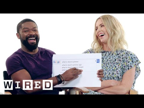 Charlize Theron & David Oyelowo Answer the Web's Most Searched Questions  WIRED