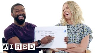Charlize Theron & David Oyelowo Answer the Web