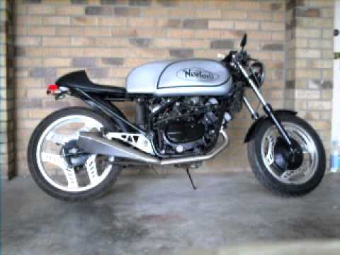 Vt250 Cafe Racer By Dof Youtube