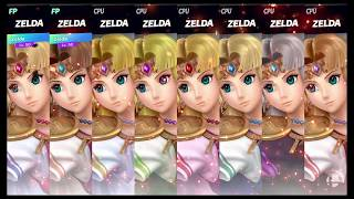 Super Smash Bros Ultimate Amiibo Fights   Request #1494 Zelda Melee