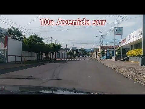 Santa Ana , El Salvador ,,La 10a Avenida sur hasta la procabia