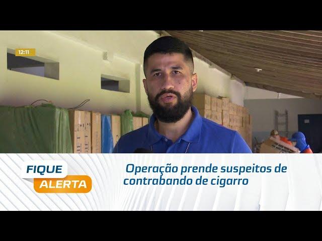 Operação prende suspeitos de contrabando de cigarro em Limoeiro de Anadia