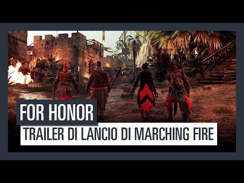Trailer di Lancio - FOR HONOR Marching Fire