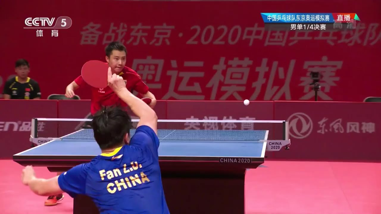FULL MATCH | Fan Zhendong vs Yu Ziyang | 2020 China Warm-Up Matches for Olympics