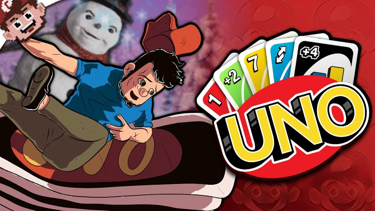 Christmas in July | WHAT'S JUMP IN RULES?! (UNO Multiplayer - Jump In)