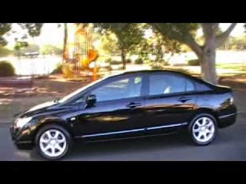 Honda Civic 2008 VTi Black - YouTube