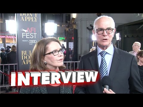 Rules Don't Apply: Lorraine Feather & Eddie Arkin Exclusive Premiere Interview at AFI Fest 2016