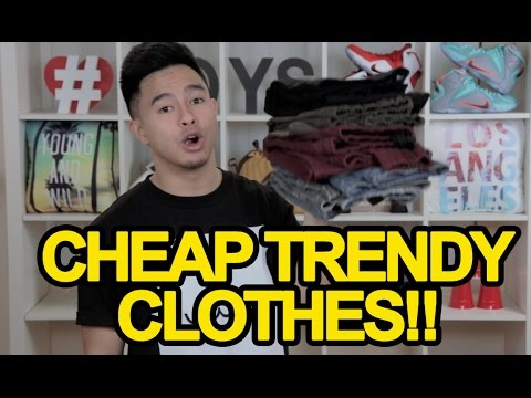 CHEAP ALTERNATIVES TO EXPENSIVE TRENDY CLOTHING