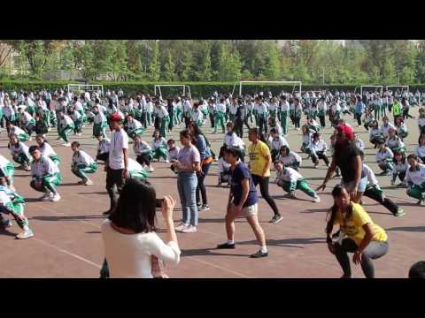 2017 April 14 Chengdu School Morning exercise