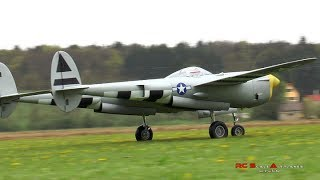 Rc Lockheed P 38 Lightning