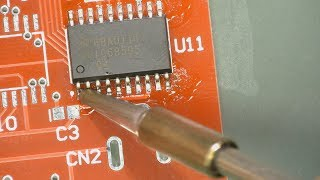 EEVblog #997 - How To Solder Surface Mount Components