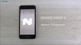 DOOGEE shoot2 android 7.0 Smartphone review