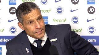 Brighton 0-1 Liverpool - Chris Hughton Full Post Match Press Conference - Premier League