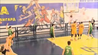 Sergey Yurchenko best moments season 2014-2015. Basketball. BC Avangard