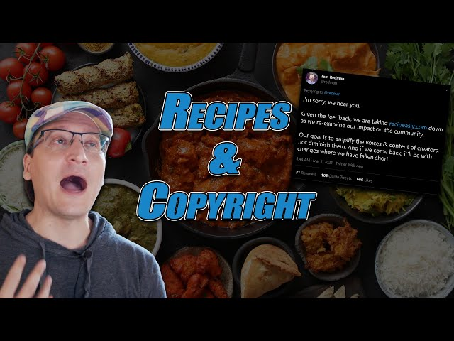 Recipeasly Shut Down - But Not Because of Copyright