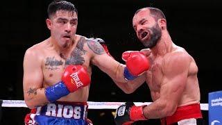 BRUTAL KO: BRANDON RIOS vs RAMON ALVAREZ - FIGHT REVIEW!! NO FOOTAGE!!