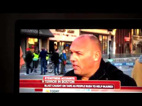 Boston accident for multimedia story telling