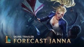 Forecast Janna | Skins Trailer - League of Legends