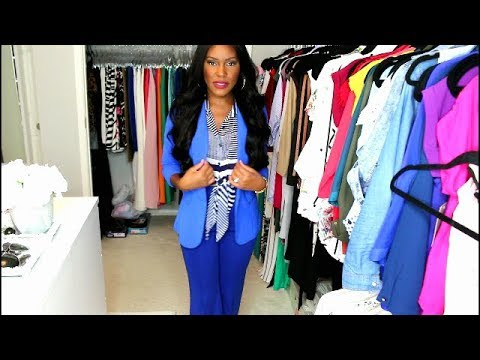 Easy Colorful Office WorkWear Outfit Ideas- What to Wear to Work LookBook