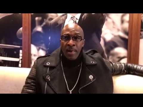 Trainer Barry Hunter speaks about Lamont Peterson vs. Errol Spence