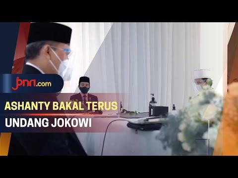 Ini Alasan Ashanty Undang Jokowi ke Pernikahan Aurel dan Atta Halilintar