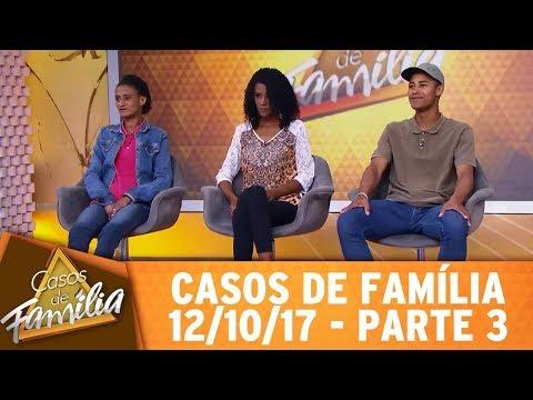 Minha Mãe Acha Que é Adolescente... - Parte 3 | Casos De Família (12/10/17)