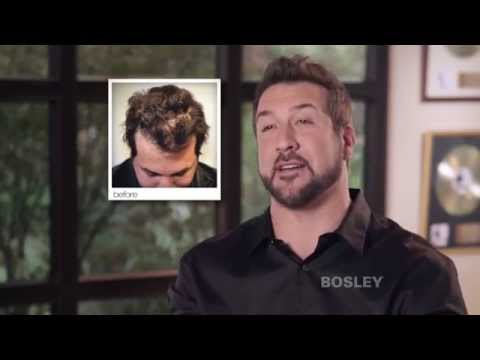 Bosley Medical Celebrity Hair Transplant Review | Joey Fatone