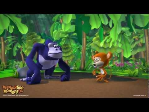 Monkey See Monkey Do ™  Gorilla Dance