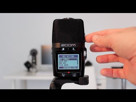 Zoom H2n Handy Digital Audio Recorder Unboxing & Review
