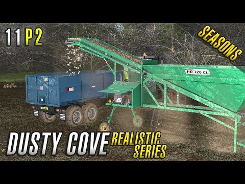 Realistic Farming Simulator 17 | Dusty Cove | Day Eleven Part 2