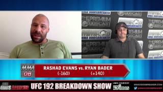 UFC 192  Breakdown Show w/ Frank Trigg and Nick Kalikas