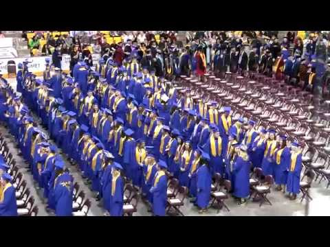 The College of St. Scholastica 2016 Spring Commencement