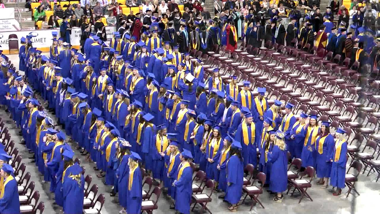 College Of Saint Scholastica >> The College of St. Scholastica 2016 Spring Commencement - YouTube