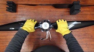 видео: Самолетный электромотор 15 киловатт - ОТ ВИНТА !!!