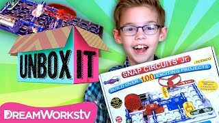 Snap Circuits Jr. Review with The Happy Family Show | UNBOX IT