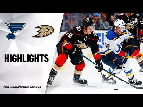 NHL Highlights | Blues @ Ducks 3/11/20