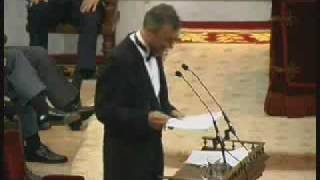 Discurso de ingreso de Perez-Reverte en la RAE 3/3  Admission Speech of Perez-Reverte in the RAE.