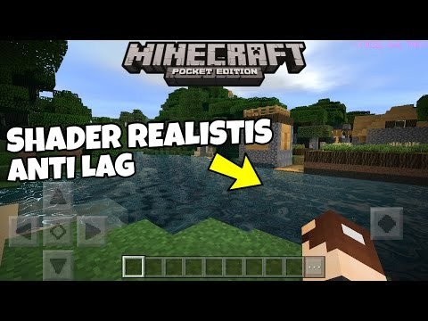 SHADER REALISTIS TANPA LAG !!! - Minecraft PE