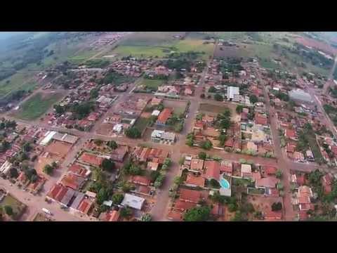 Drone - Sobrevôo na cidade de Pedro Gomes / Mato Grosso do Sul