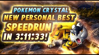 Pokemon Crystal Speedrun in 3:11:33! (New Personal Best!)