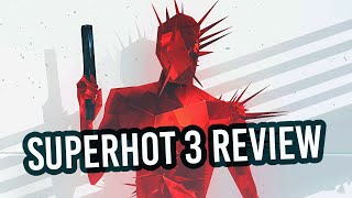 SUPERHOT: Mind Control Delete - FULL REVIEW | Mind Control Install! (Video Game Video Review)