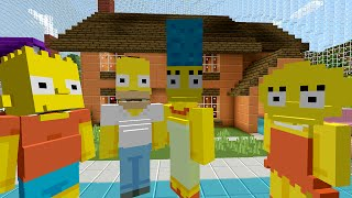 Minecraft Xbox - Survival Madness Adventures - The Simpsons Springfield [252]